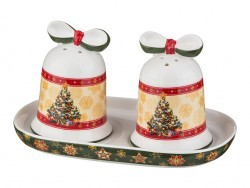 "Набор для специй ""christmas collection"" 3 пр. 15,5*9,5 см высота=8 см Lefard (586-051)"