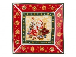 "Блюдо ""christmas collection"" 22,5*22,5 см. высота=2,5 см. Lefard (586-056)"