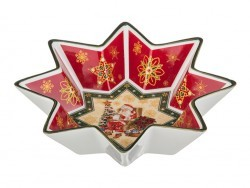 "Салатник ""christmas collection"" диаметр=26 см (кор=24шт.) Lefard (586-128)"