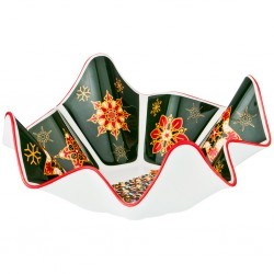 "Салатник ""christmas collection"" 26*26*11 cm. (кор=9шт.) Lefard (586-391)"