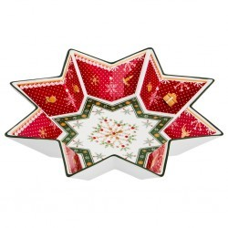"Салатник ""christmas collection"" диаметр=32 см высота=6 см Lefard (586-392)"