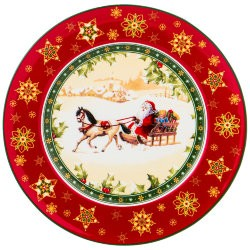 "Тарелка ""christmas collection"" диаметр=21 см высота=1,6 см Lefard (586-438)"