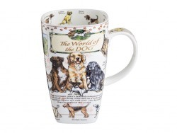 "Кружка ""the world of the dog"" 600 мл Porcelain Manufacturing (264-218)"
