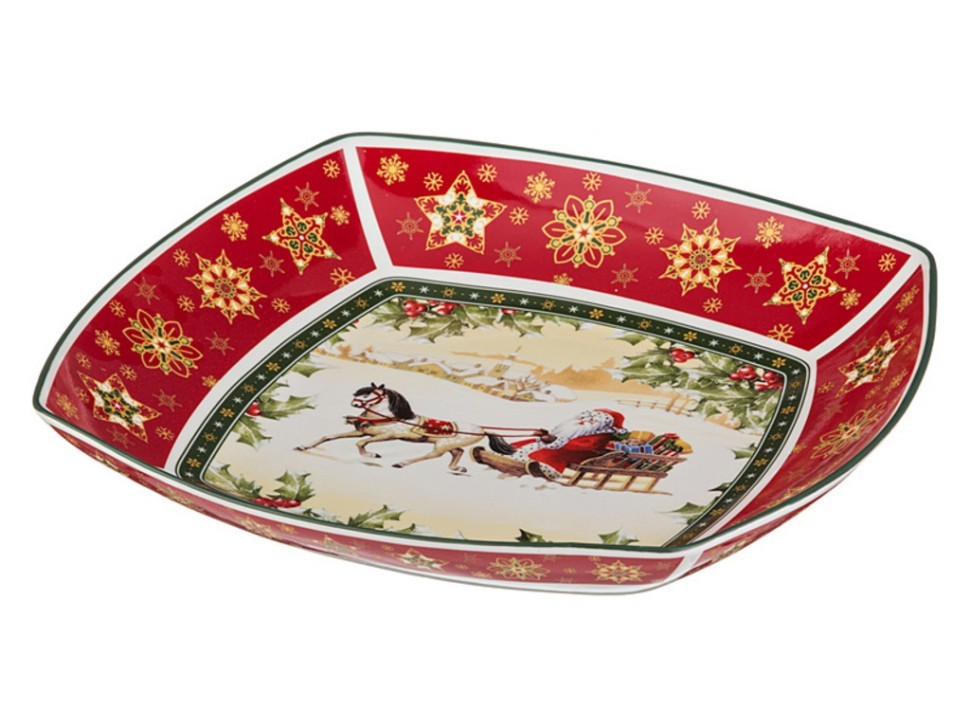 "Салатник ""christmas collection"" 32*32 см. высота=6 см Lefard (586-190)"