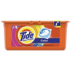 Капсулы для стирки Tide Color 30 шт по 24,8 г (65180)