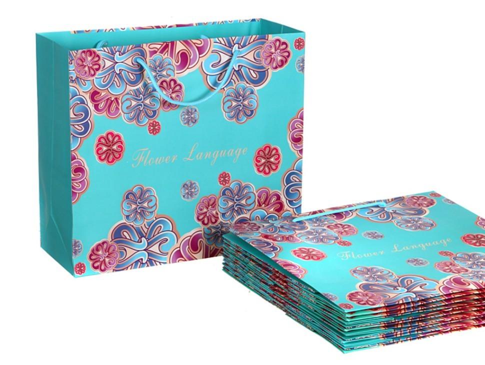 Бумажные пакеты для подарка 70