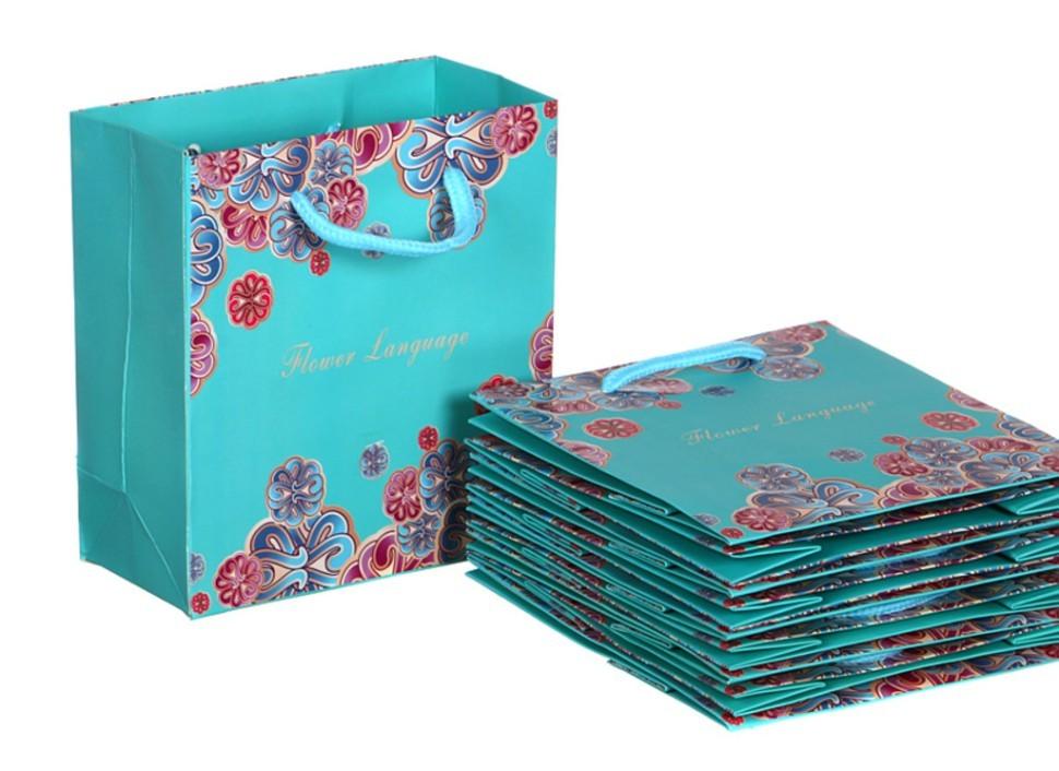 Бумажные пакеты для подарка 92